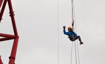 Freefall abseiling for a cause 4