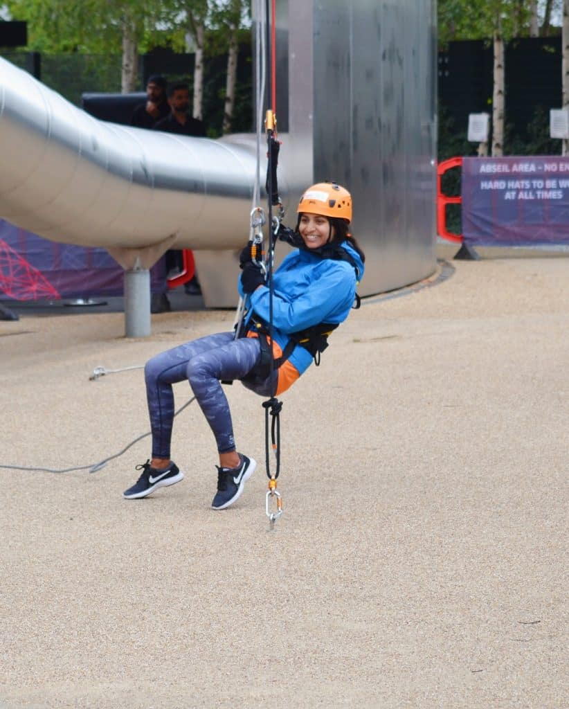 Freefall abseiling for a cause 3