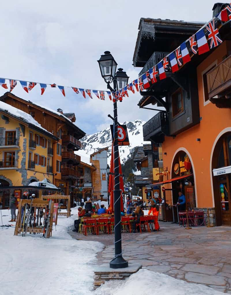 The Great British Celebration in Les Arcs 4