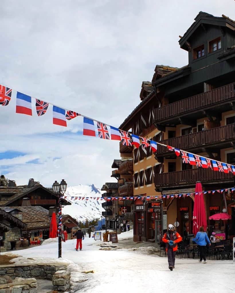 The Great British Celebration in Les Arcs 6