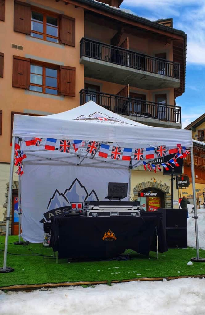 The Great British Celebration in Les Arcs 7