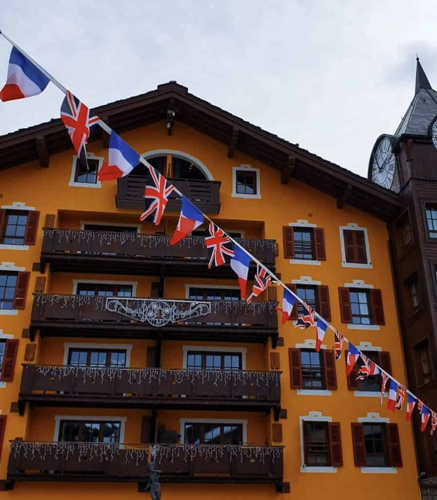 The Great British Celebration in Les Arcs 8