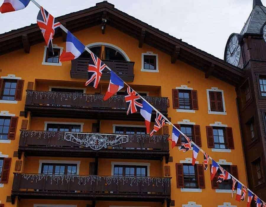 The Great British Celebration in Les Arcs 2