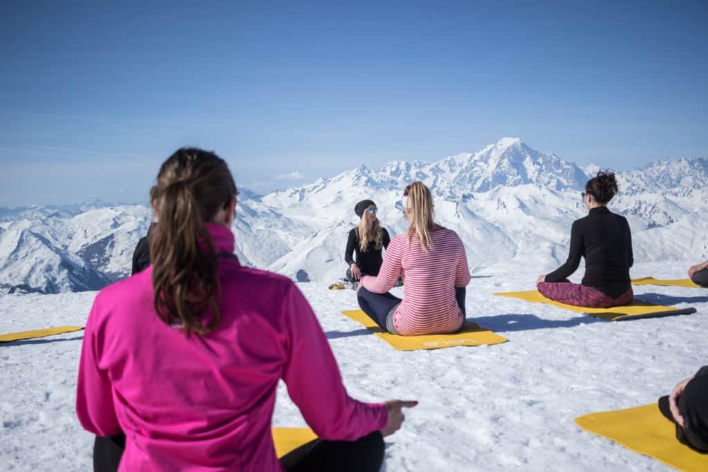 yoga mountain