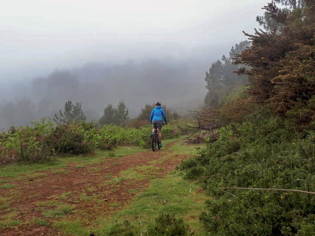 mountain biking madeira