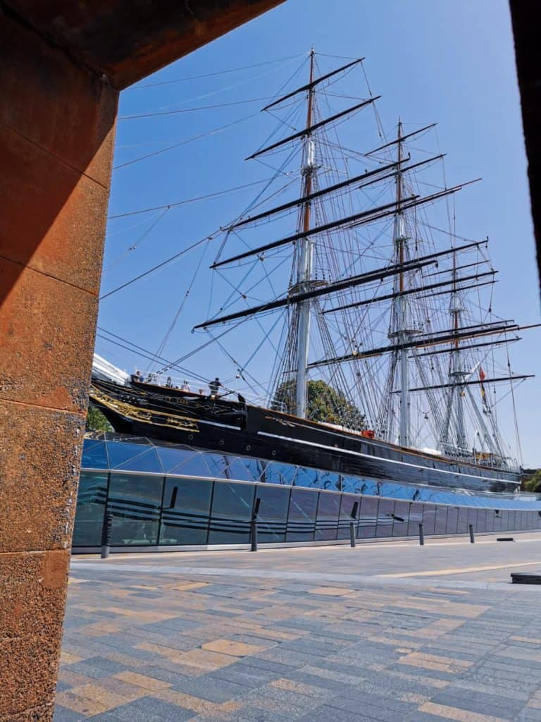Cutty sark ship clipper