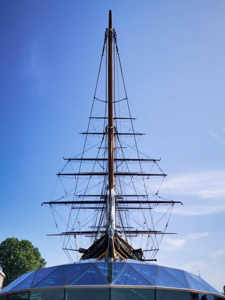 sails Cutty Sark greenwich