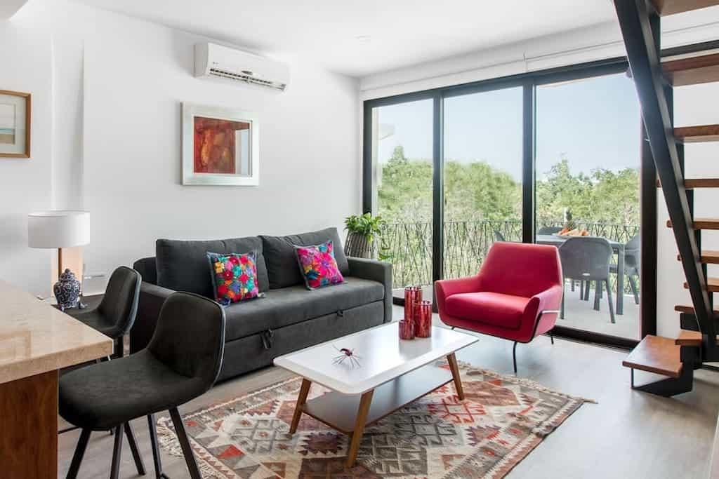 beachfront tulum airbnb penthouse