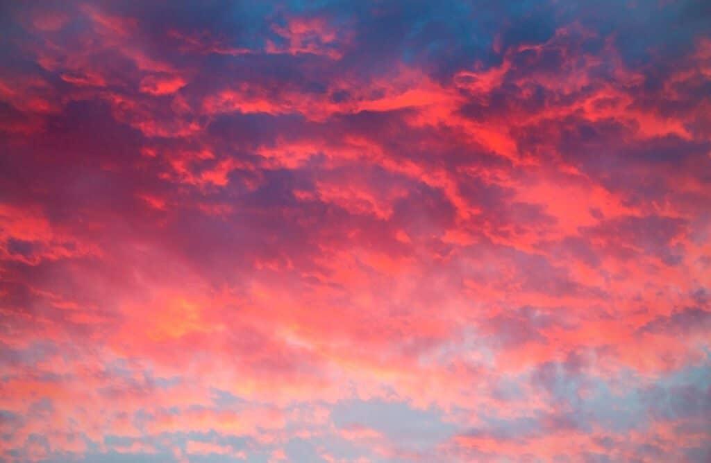 evening sky captions for instagram pink sky