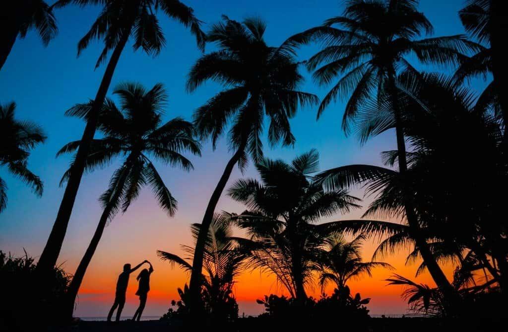 caption on sunset