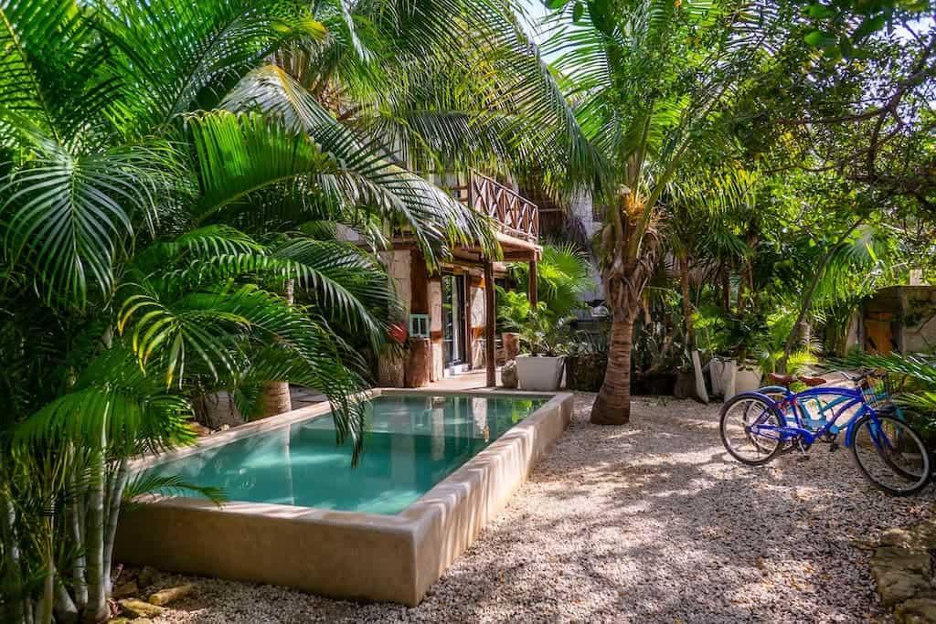 airbnb mexico tulum pool