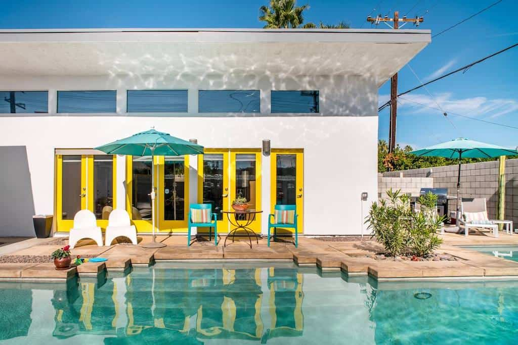 airbnb palm springs house with pool