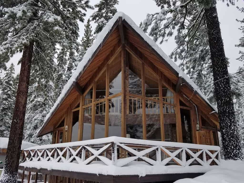 winter cabin for rent in lake tahoe