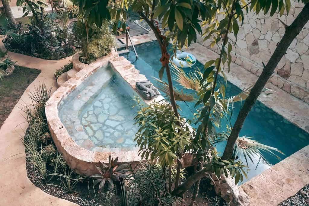 tulum mexico airbnb pool