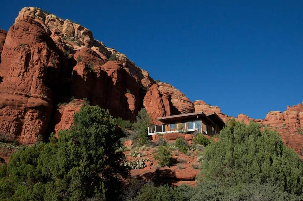 sedona cabins A shaped airbnb