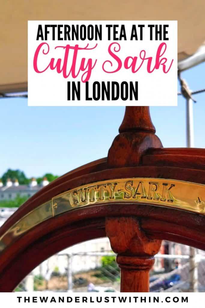 Cutty sark ship London in greenwich