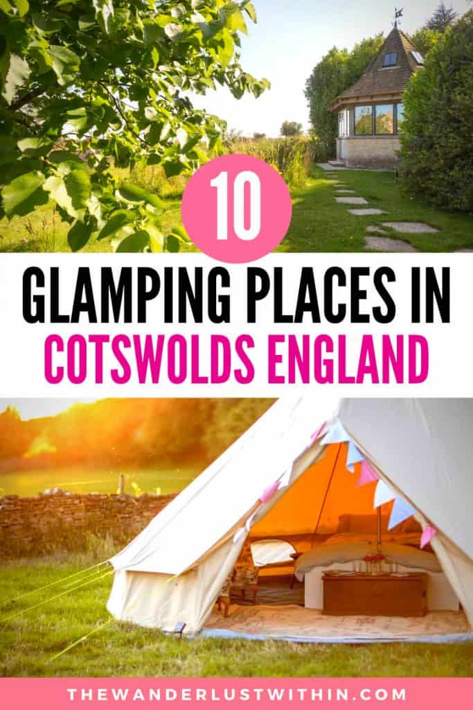 cotswolds glamping pods