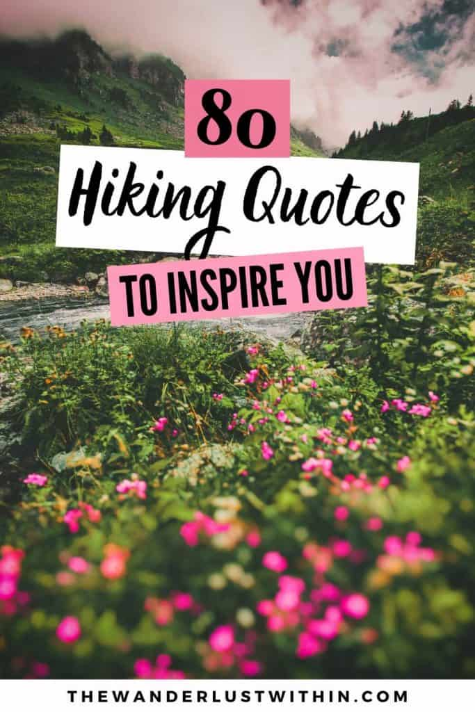 hiking quotes for instagram
