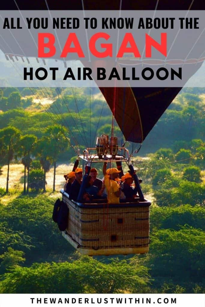 all you need to know about the bagan hot air balloon ride