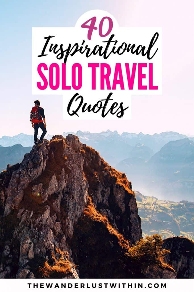 motivational quotes about traveling alone travel solo quotes