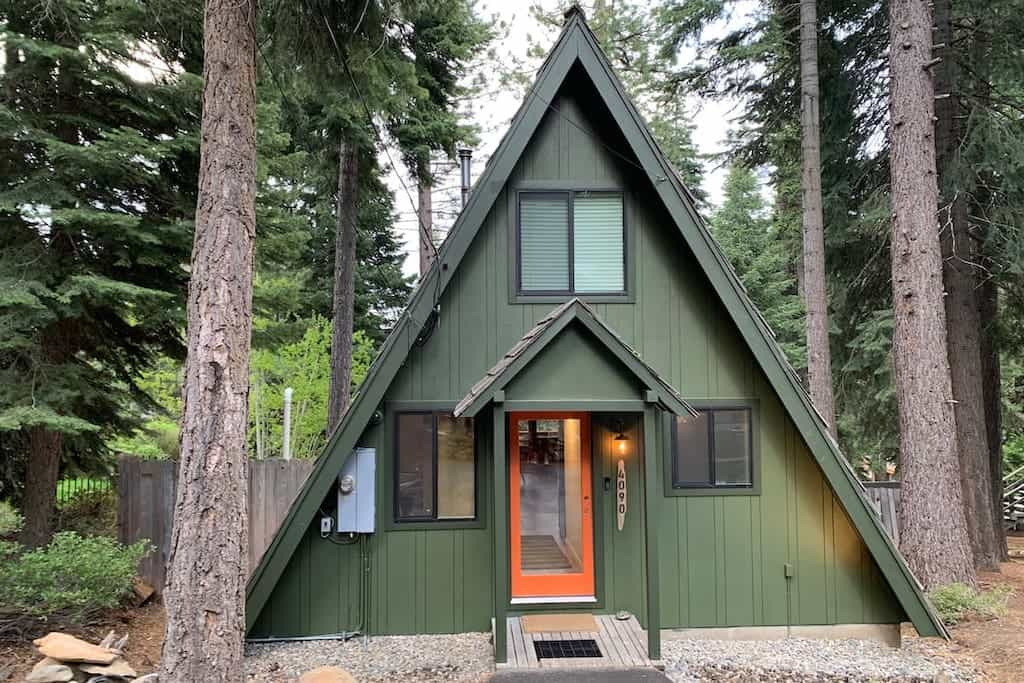 winter cabin rentals lake tahoe california nevada