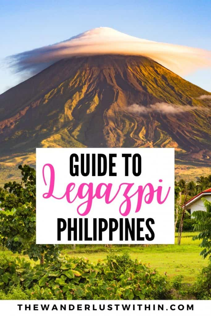 things to do in Legazpi City philippines in albay with picture of mount mayon volcano
