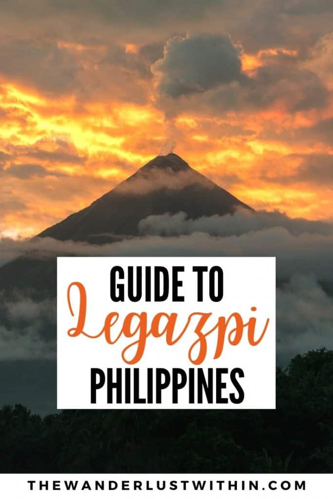 things to do in Legazpi philippines albay Bicol with mayon volcano