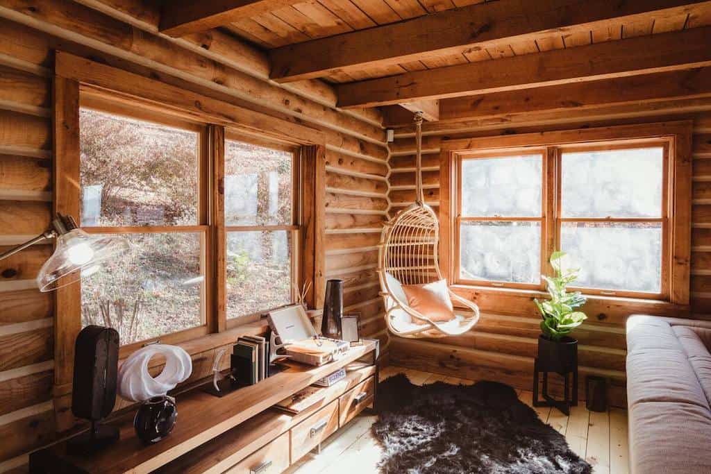 airbnb asheville cabins