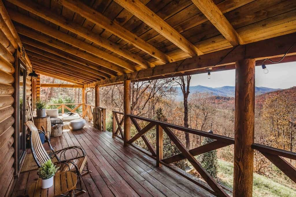 airbnb asheville nc cabin