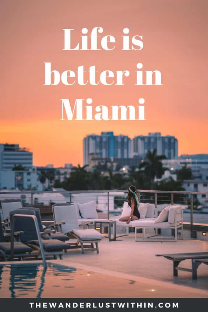 captions for miami - life is better in miami