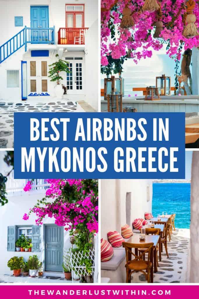 top mykonos airbnbs