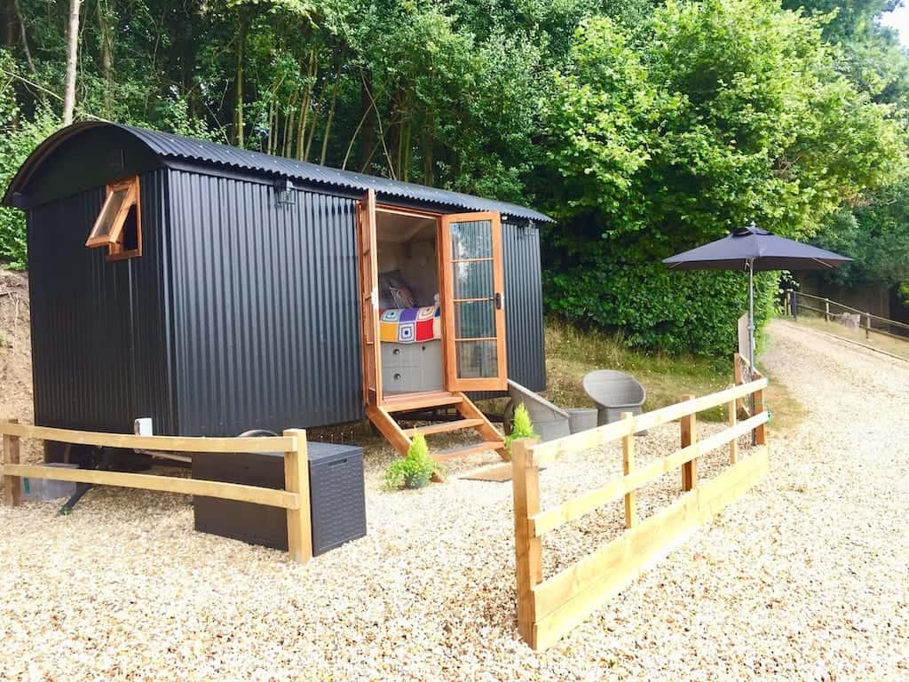 glamping new forest uk
