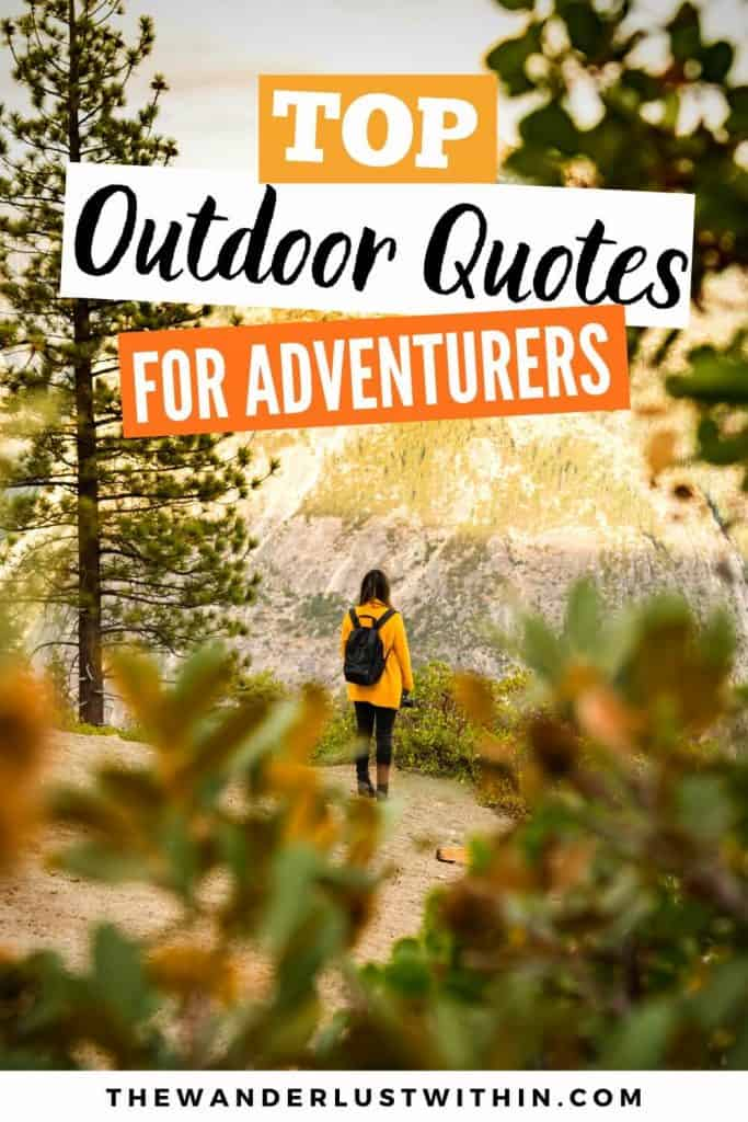 outdoor quotes for adventurers