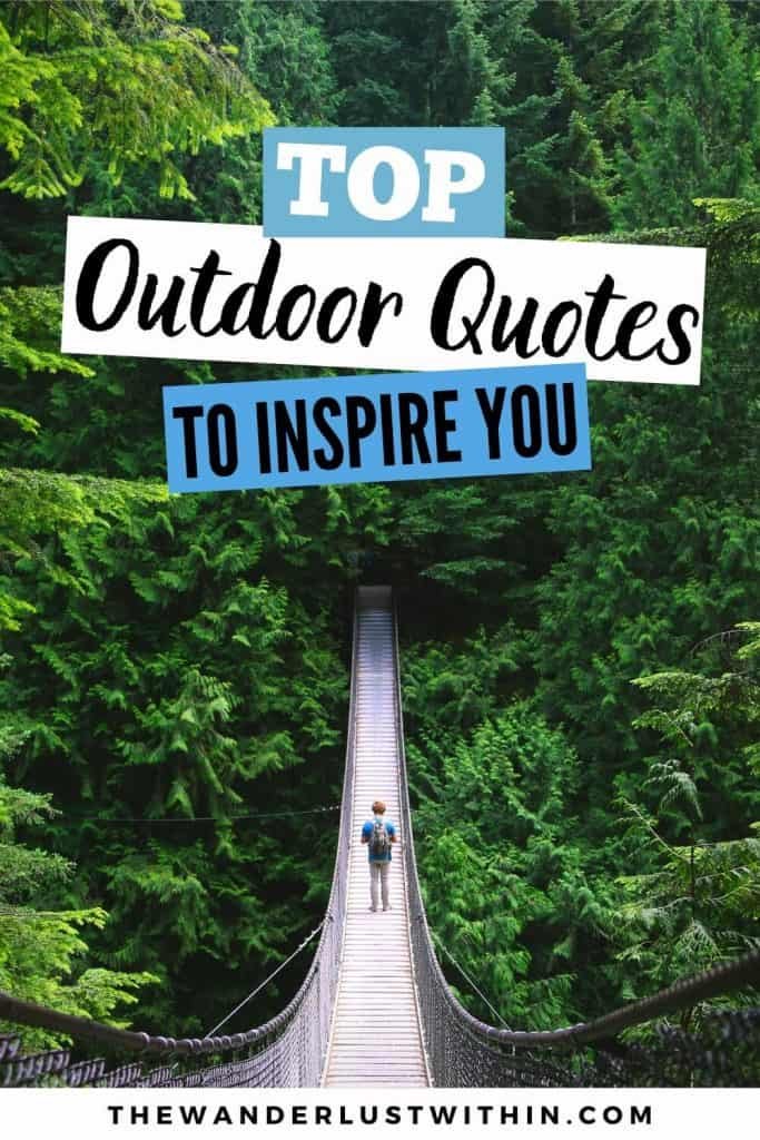 outdoor quotes to inspire you
