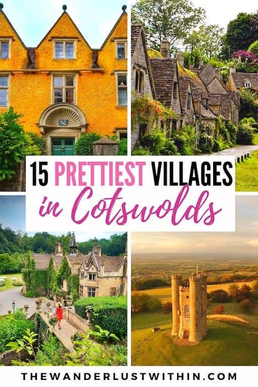 prettiest village in cotswolds in england