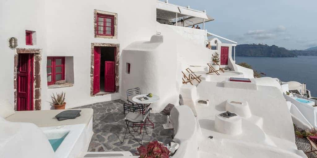 santorini houses for rent with bedroom santorini airbnb