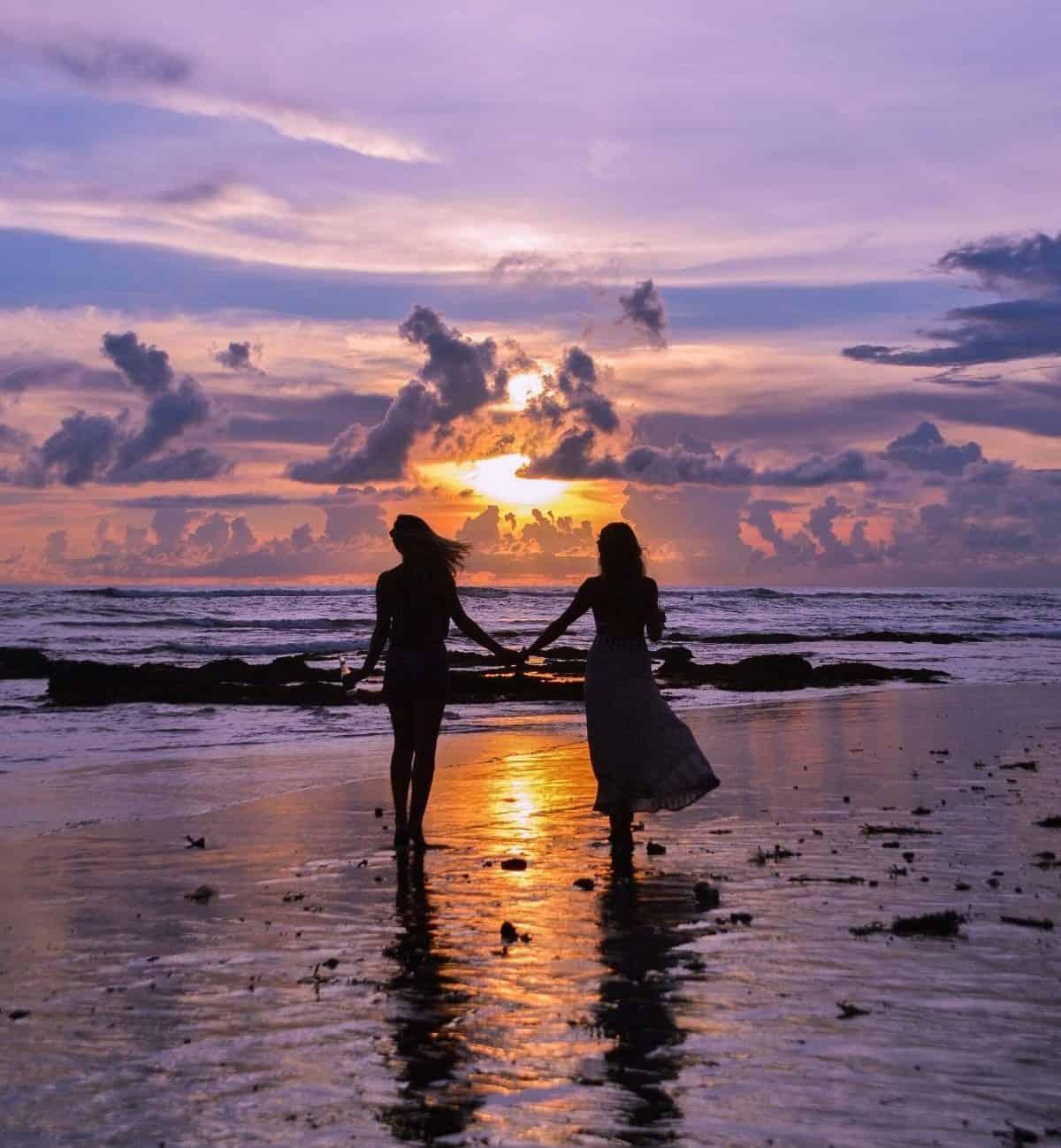 Marvelous Beautiful Sunset Nature Heavens