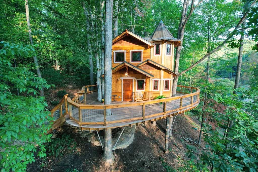 airbnb asheville treehouse