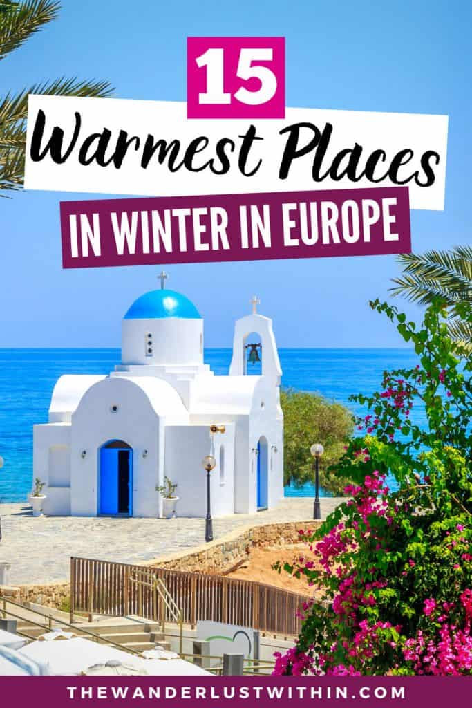 15 Best Winter Sun Destinations in Europe