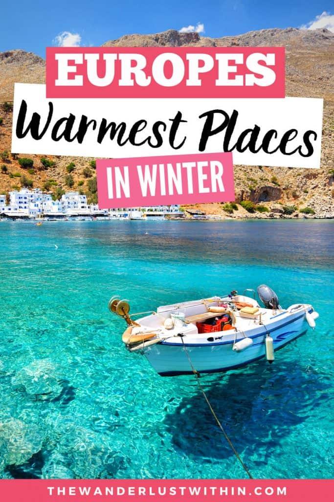 BEST European Winter Sun: The 15 Warmest Places In Europe In Winter