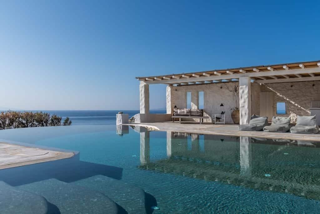 airbnb mykonos villa with infinity pool